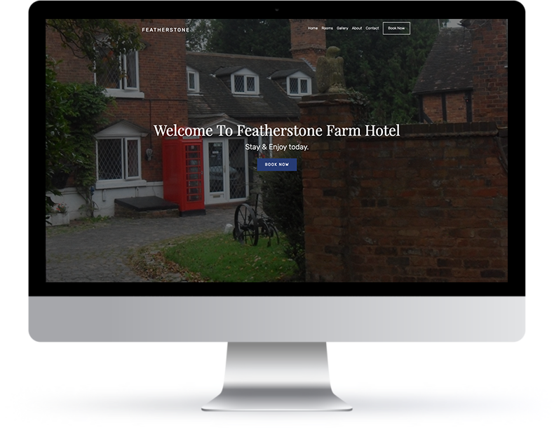 Featherstone Farm Website