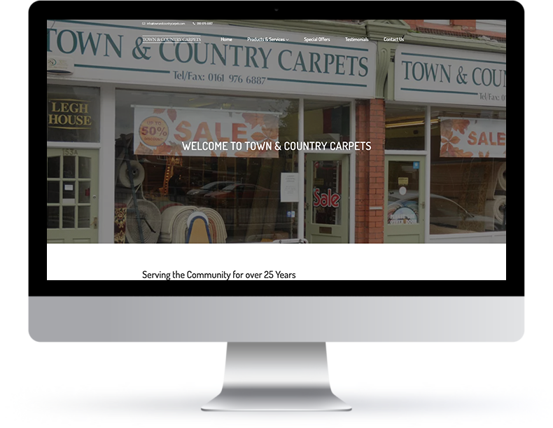 Town & Country Website