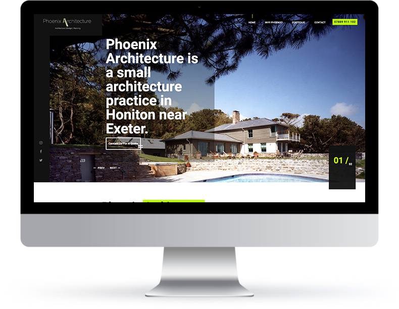 Phoenix Architecture Website